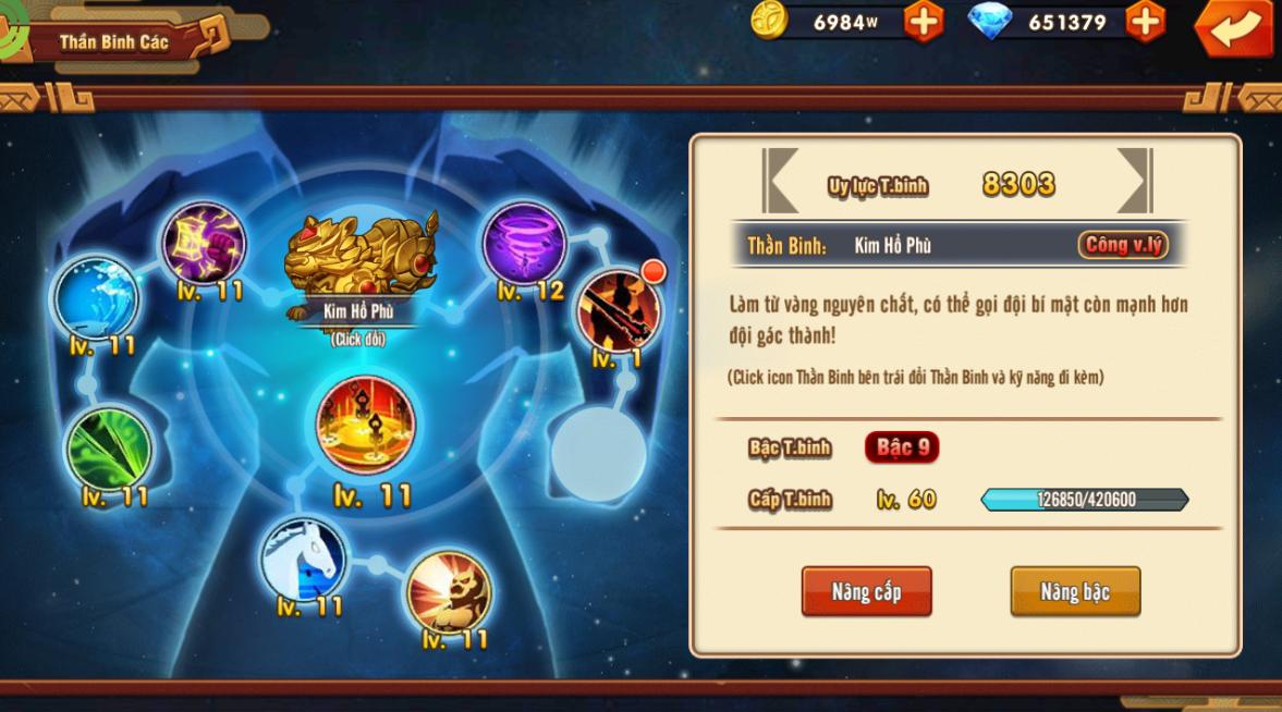 [Tính Năng Game]Dụng Thần Binh - Chiến Thiên Hạ - 4