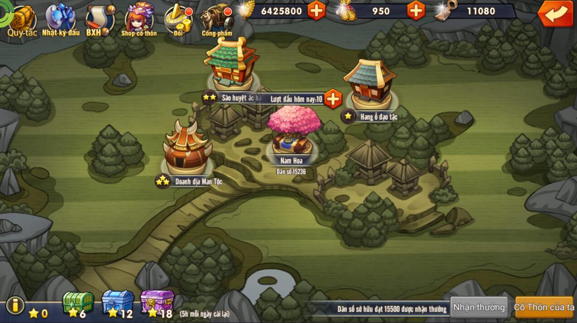 [Tính Năng Game] Nam Hoa Thôn - 1