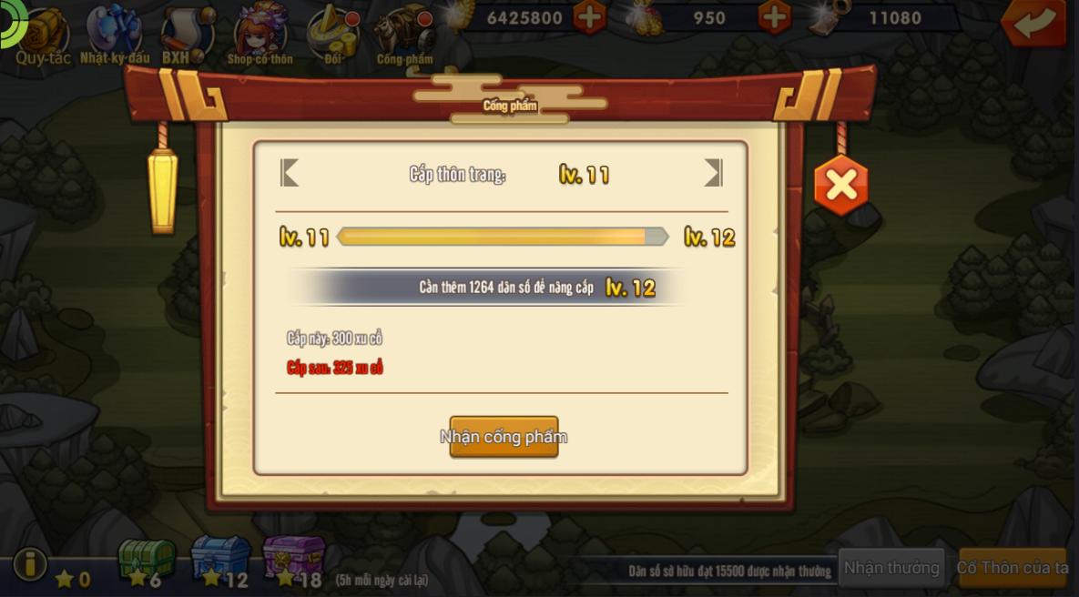 [Tính Năng Game] Nam Hoa Thôn - 4