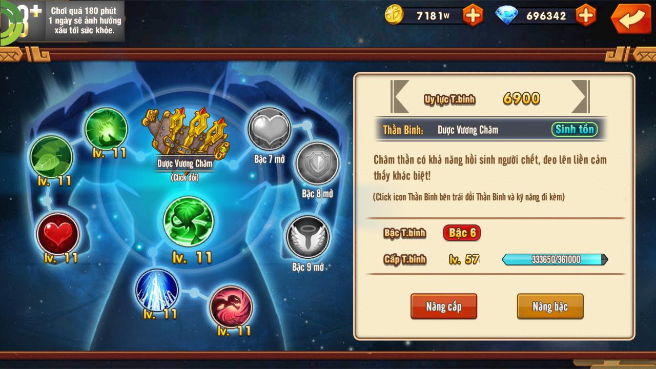 [Tính Năng Game]Dụng Thần Binh - Chiến Thiên Hạ - 5
