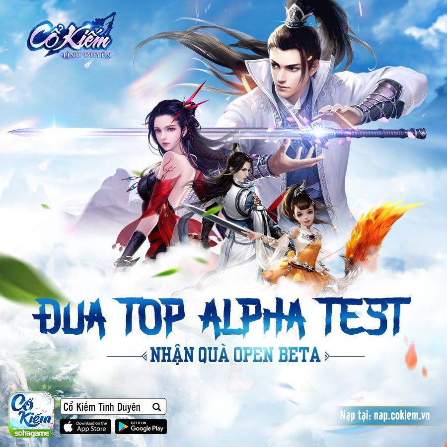 [Sự Kiện] Đua Top Alpha Test - Nhận Quà Open Beta - 1