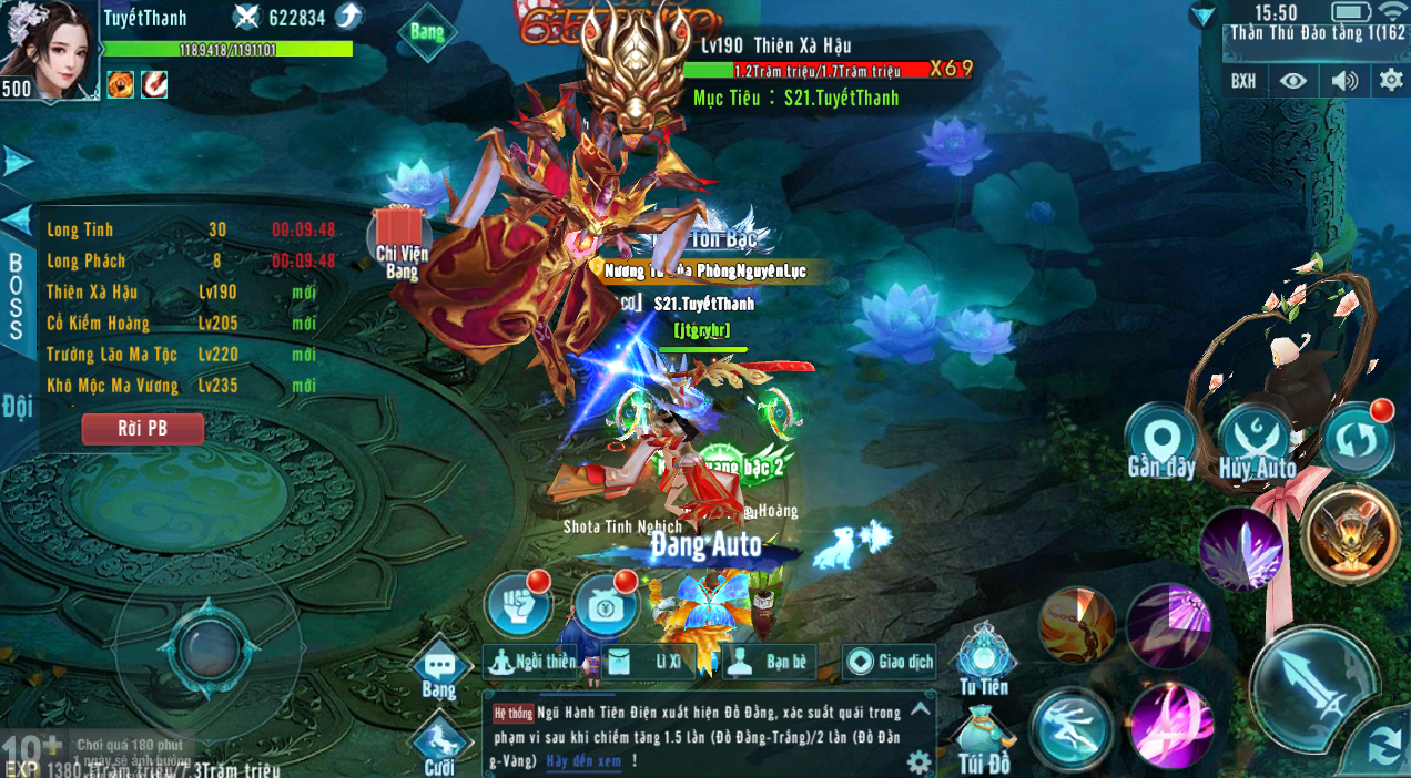 [Tính Năng] Thần Thú Đảo - 3