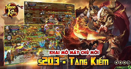 [Thông báo] Khai mở máy chủ s203 - Tàng Kiếm - 1