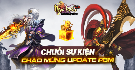 [Sự Kiện] Chuỗi sự kiện chào mừng update PBM - 1