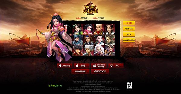 """Cùng """"khoe"""" số điểm kỷ lục trong minigame Landing Mộng Võ Lâm 2 - 1"""
