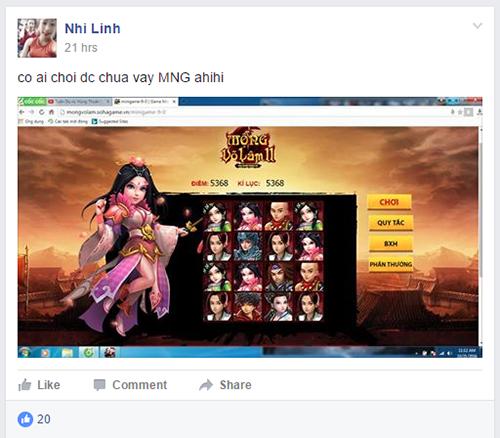 """Cùng """"khoe"""" số điểm kỷ lục trong minigame Landing Mộng Võ Lâm 2 - 5"""