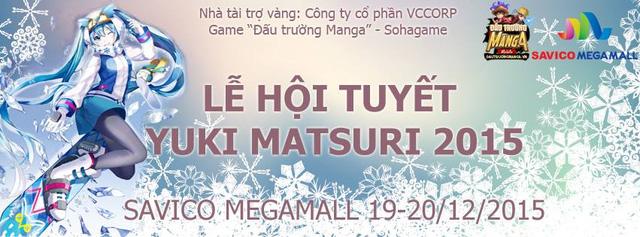 Tham gia lễ hội tuyết Yuki Matsuri - Nhận quà Enel