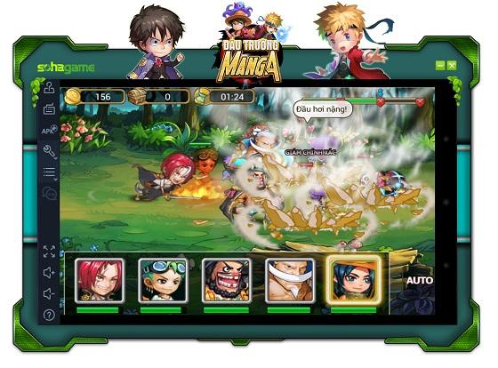 Hướng dẫn chơi Đấu Trường Manga Trên PC