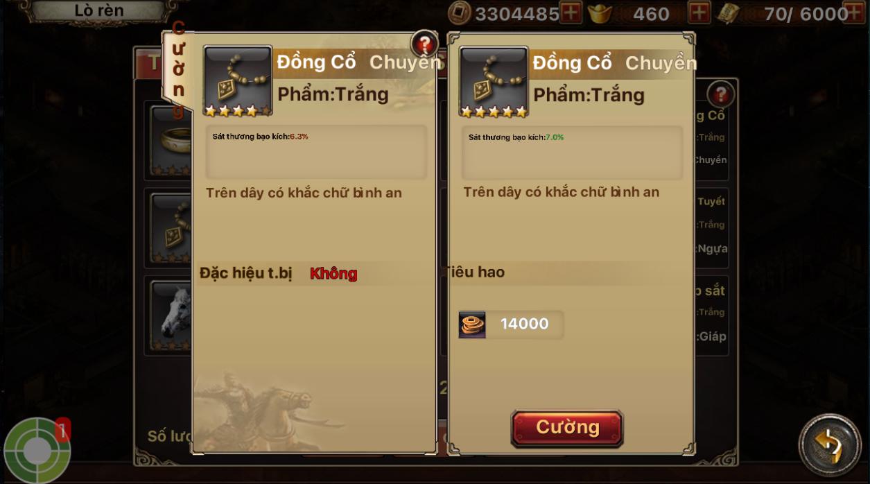 Chi tiết bản cập nhật 3.0 - Tam Quốc Thần Binh - 6