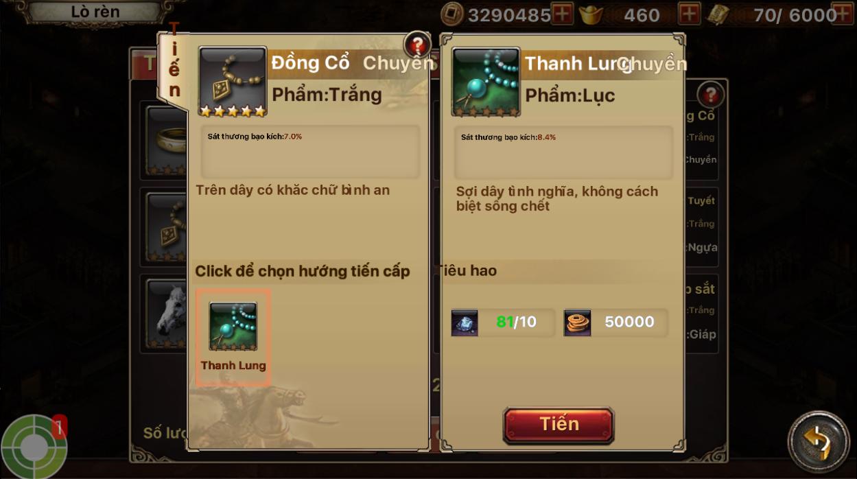 Chi tiết bản cập nhật 3.0 - Tam Quốc Thần Binh - 7