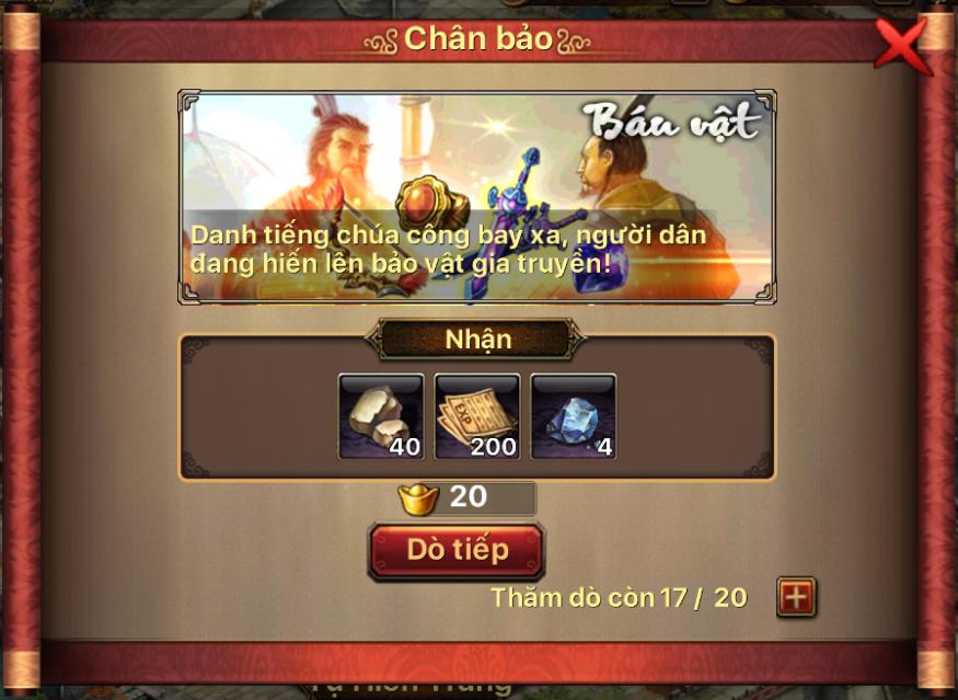 Chi tiết bản cập nhật 3.0 - Tam Quốc Thần Binh - 13