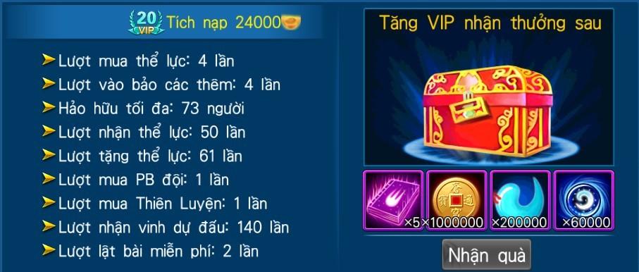 [Hệ thống - Độc Cô Cầu Bại] VIP - 20
