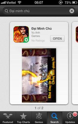 [iOS] Cài đặt trên AppleStore (chưa jailbreak) - 4