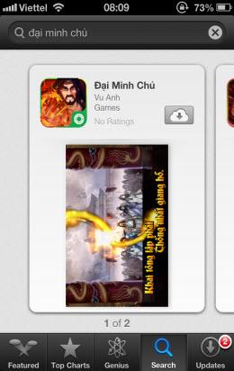 [iOS] Cài đặt trên AppleStore (chưa jailbreak) - 5