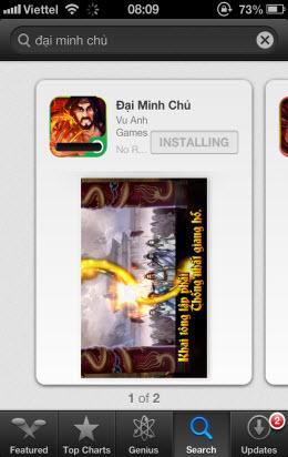 [iOS] Cài đặt trên AppleStore (chưa jailbreak) - 6