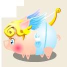 Heo kute – Heo Cupid mang tình yêu đến trang trại của bạn!