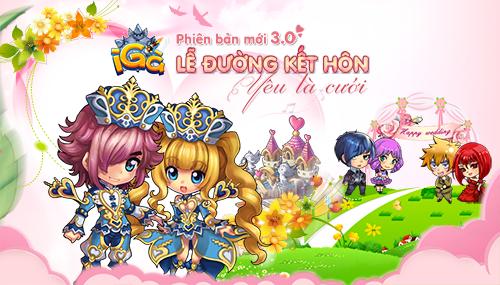 iGà 3.0 - Lễ đường kết hôn!