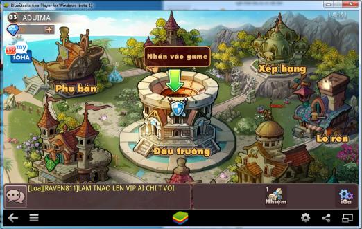Hướng dẫn chơi iGà trên PC