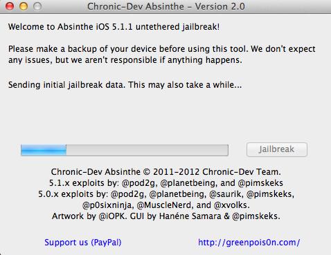 Jailbreak iPhone/iPad/iPod dùng OS 5.x.x trở xuống