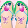 Game Trang điểm đôi chân