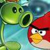 Game Plants VS Angry Birds