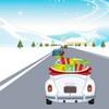 Game Santa đua xe