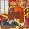 Game Hôn trộm trong thư viện