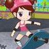 Game Sue chơi ván trượt
