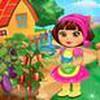Game Dora chăm sóc nông trại