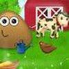 Game Pou thăm nông trại