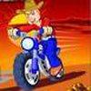 Game Cao bồi lái xe moto