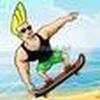 Game Jhonny Brave trượt ván