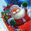 Game Santa lái xe gom quà