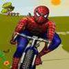 Game Spiderman lái xe đạp