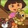 Game Dora chăm sóc gấu