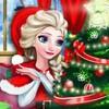Game Elsa Trang Trí Phòng Đêm Noel