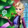 Game Elsa Và Anna Trang Trí Cây Thông