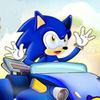 Game Sonic Lái Siêu Xe