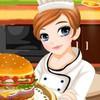 Game Làm Bánh Hamburger Tessa