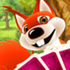 Game Đánh bài phỏm với sóc đỏ