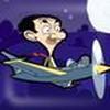 Game Mr Bean lái máy bay