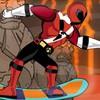 Game Siêu Nhân Vs Ninja Rùa Lướt Ván