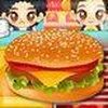 Game Sue bán hamburger