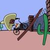 Game Xe đạp vượt biên