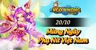 [Tin Tức] - NKTK Tưng Bừng Mừng Ngày Phụ Nữ Việt Nam 20/10