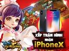 [Cực Hot] SohaGame tặng 1 cơ hội nhận miễn phí iPhone X cho game thủ.