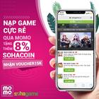 [Cực Hot] Mua SohaCoin Cực Dễ - Nạp Game Cực Rẻ Qua Ví MoMo