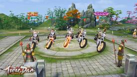 """""""Phê tới bến"""" với dàn phân khối lớn siêu khủng của Tiêu Dao Mobile: Anh em lập """"biệt đội tổ lái"""" dần đi là vừa!"""