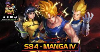 KHAI MỞ SERVER S84 MANGA IV - TẶNG NGAY 4 LOẠI VIPCODE MANGA MIỄN PHÍ