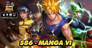 KHAI MỞ SERVER S86 MANGA VI - TẶNG NGAY 4 LOẠI VIPCODE MANGA MIỄN PHÍ